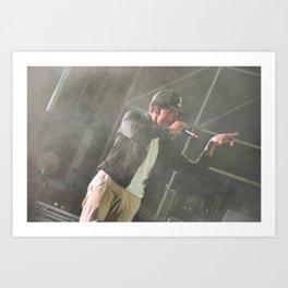 Chance the Rapper Live Art Print