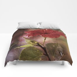 Flower Art I (two parts edition) Comforters