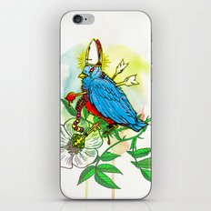 Bad Bad Birdy iPhone & iPod Skin