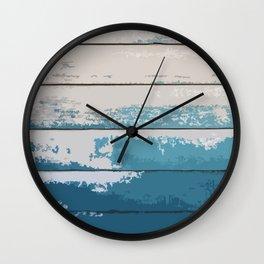 Drift wood surfing driftwood Wall Clock