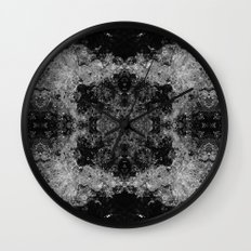 River Foam Collage Wall Clock