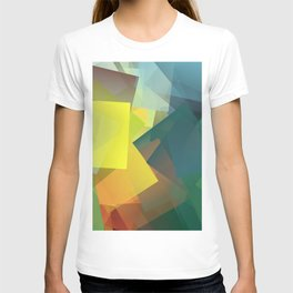 Cubism Abstract 194 T-shirt