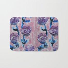 Rose Petals Series Paintings Bath Mat