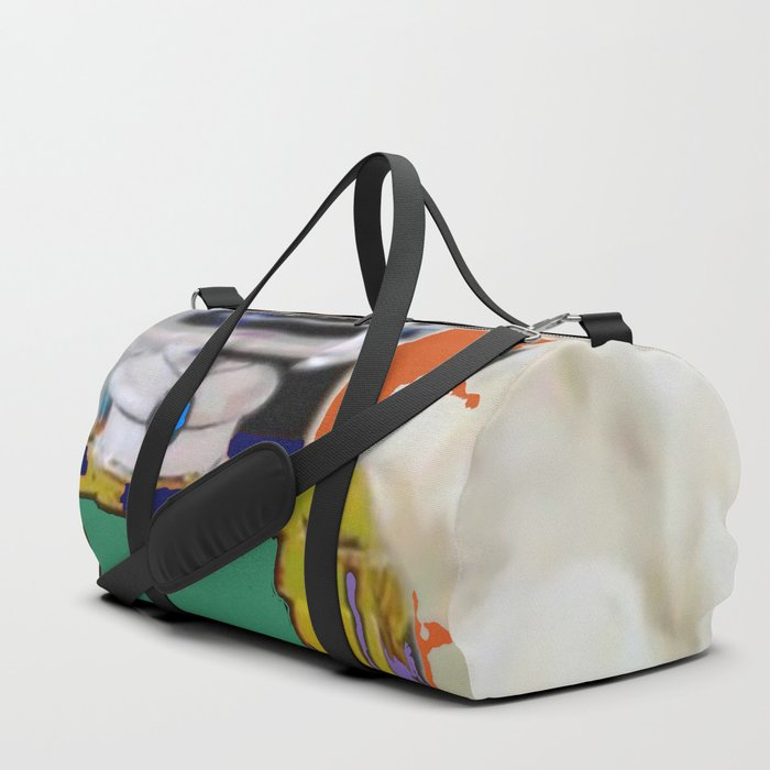 Pop Art Fashion Icon Duffle Bag