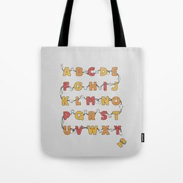 From A to Zzz Tote Bag