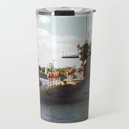 USS JOHN ADAMS (SSBN-620) Travel Mug