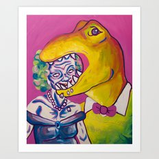 Beatris and Terry Art Print