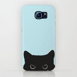 Black cat I iPhone Case