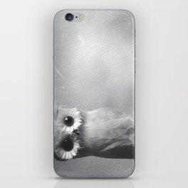 Owl Sideways  iPhone Skin