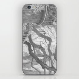Forest Wall iPhone Skin