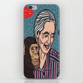Jane Goodall iPhone Skin