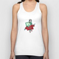 bmo Tank Tops featuring BMO Soccer by AbigailC