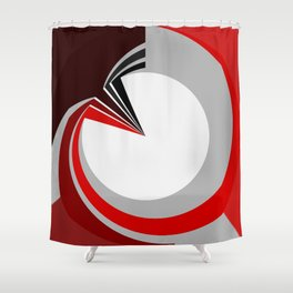 Colours in a circle Shower Curtain