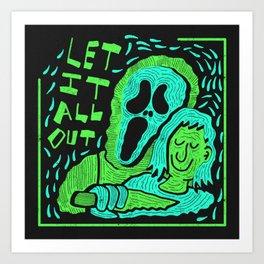 Scream 4 X Tears For Fears Art Print