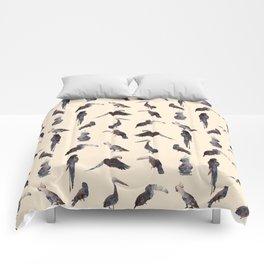 Tropical Birds 1 Comforters