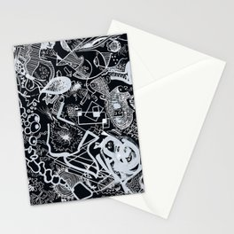 In Black Stationery Cards