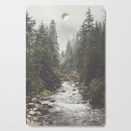 Mountain creek - Landscape and Nature Photography Cutting Board