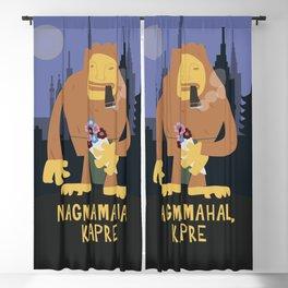 Nagmamahal, Kapre (Philippine Mythological Creatures Series) Blackout Curtain