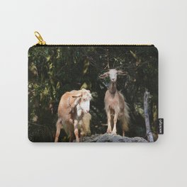 Goats In Calabria Italy Carry-All Pouch