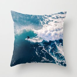 Charging it Throw Pillow