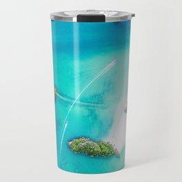 Turquoise Tropical Ocean Travel Mug