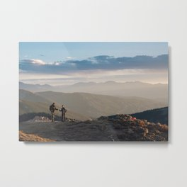 Mountain Dates Metal Print