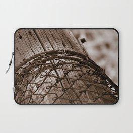 Fallen Fence Post Laptop Sleeve