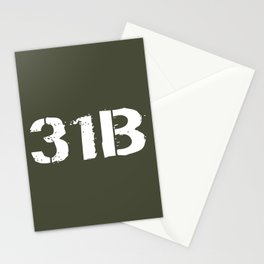 31B Military Police Stationery Cards