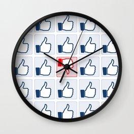 The Like Culture Wall Clock
