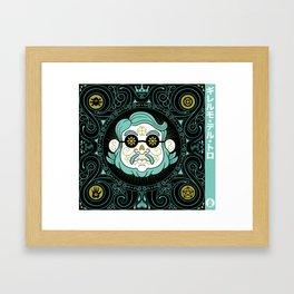 GUILLERMO DEL TORO - DIA DE MUERTOS TRIBUTE Framed Art Print