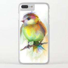 singing birdie Clear iPhone Case
