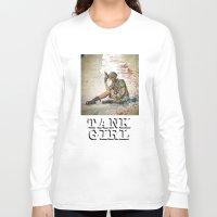 tank girl Long Sleeve T-shirts featuring Tank Girl by Joe Badon