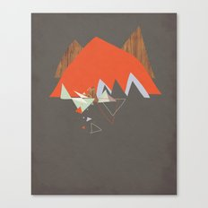 Party In The Mountains//Seven Canvas Print