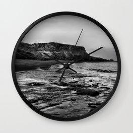 Saltwick Bay Wall Clock