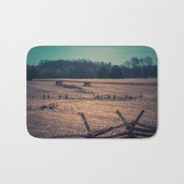 View of Antietam National Battlefield Civil War Battleground Maryland Bath Mat