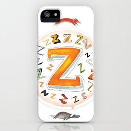 The Quick and the Zed iPhone Case