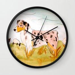 Australian Shepard Wall Clock