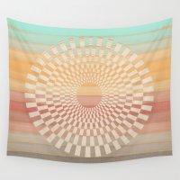 dandelion Wall Tapestries featuring Dandelion by Tammy Kushnir