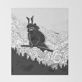 Giant Samurai Throw Blanket