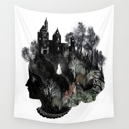 The Widowed Ghost Wall Tapestry