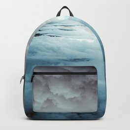 Glacier Painted Clouds Backpack