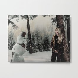 Christmas / Emma Swan Metal Print