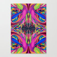 Psychedelic Connection Canvas Print