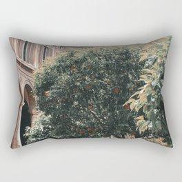Orange Picking Rectangular Pillow