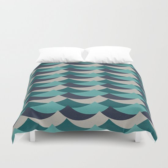 Waves Of Fun Duvet Cover
