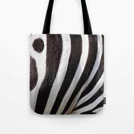 """Pop Safari 01 Zebra"" Tote Bag"