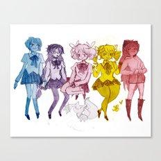 Puella Magi Canvas Print