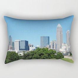 Charlotte Skyline Rectangular Pillow