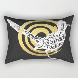 New Mexican Native Roadrunner Rectangular Pillow