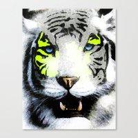 tigger Canvas Prints featuring Tigger by yumifuji